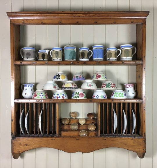 Victorian pine kitchen rack Sold