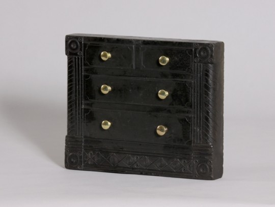 Miniature slate model chest of drawers sold