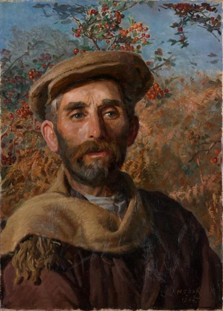 John Davies of St Davids by Herbert Oakley SOLD
