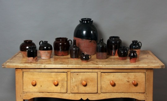 Buckley pottery collection Sold