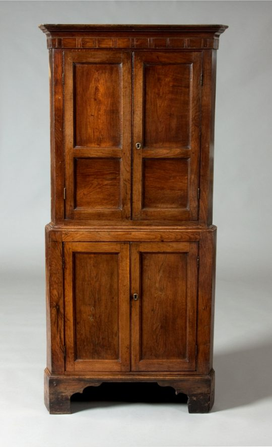 Small Welsh corner cupboard Sold