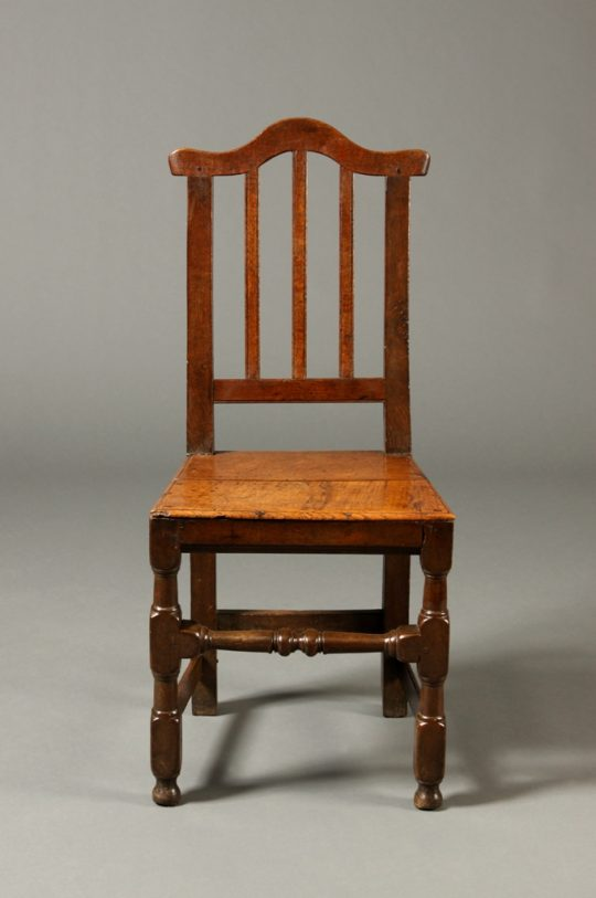 Welsh oak side chair