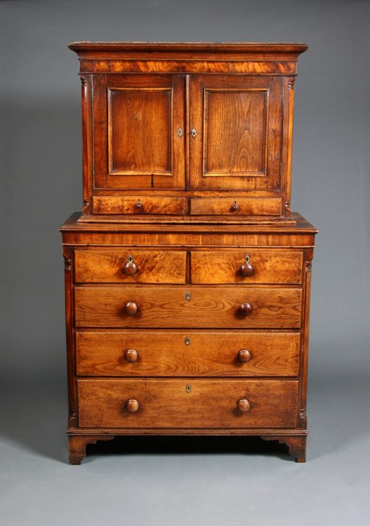 Welsh cabinet on chest