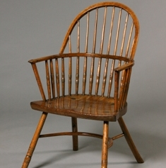 Hoop-back Windsor chair