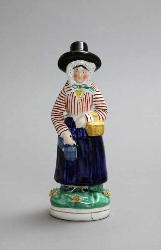 Jenny Jones Staffordshire figure Sold