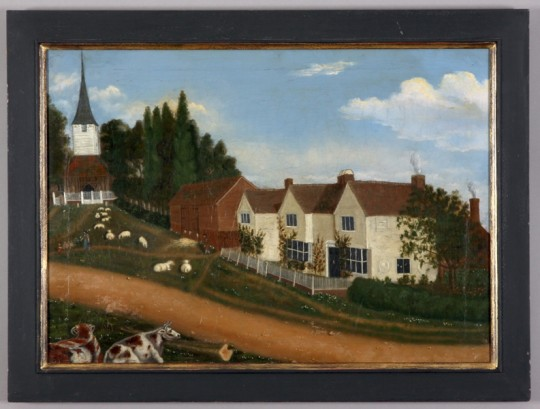 All Saints Church and Bellman's Farm in Stock Essex SOLD