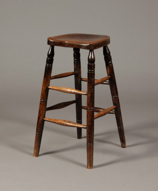 Tall Victorian clerks stool Sold