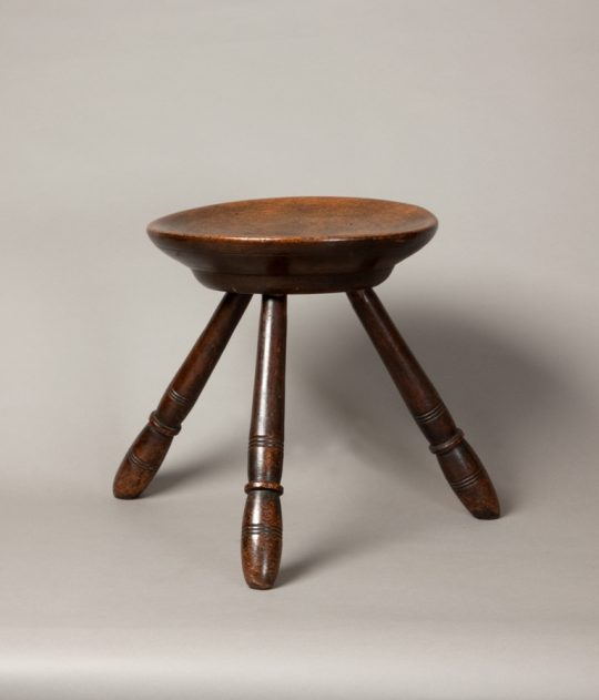 Welsh turned stool