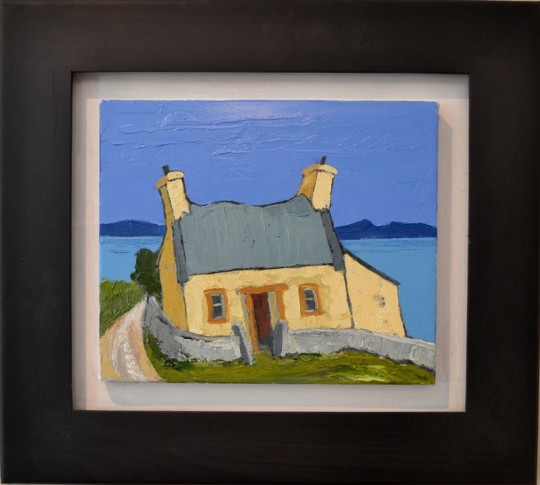 Ty Nain, Penrhyn Llyn by Wynne Jenkins Sold