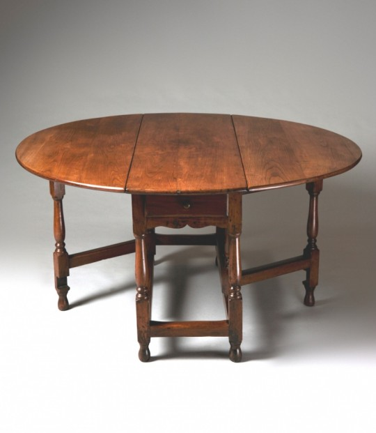 Fruitwood gate-leg table Sold