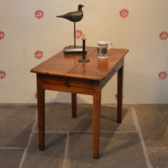 fruitwood apple pear kitchen table welsh