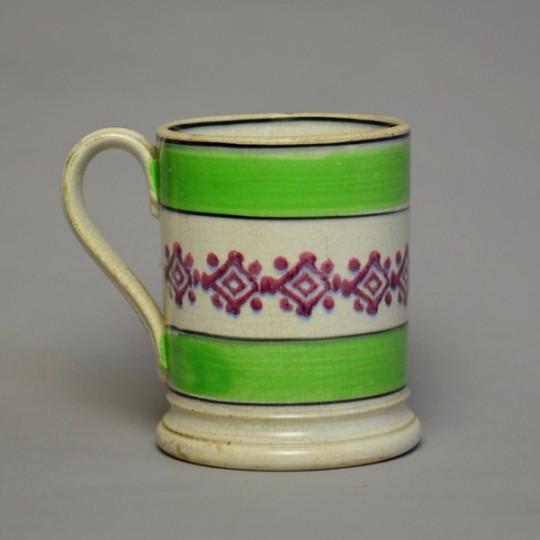 Spongeware mug Sold