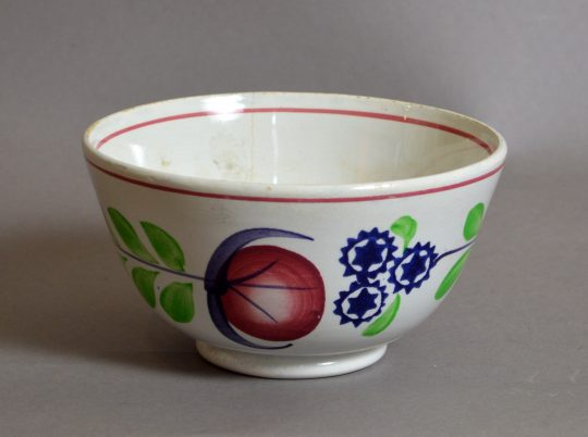 Hand painted & sponged bowl #8
