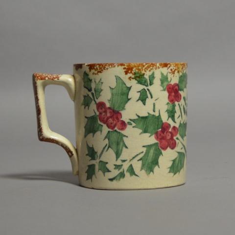 Christmas Spongeware Mug SOLD