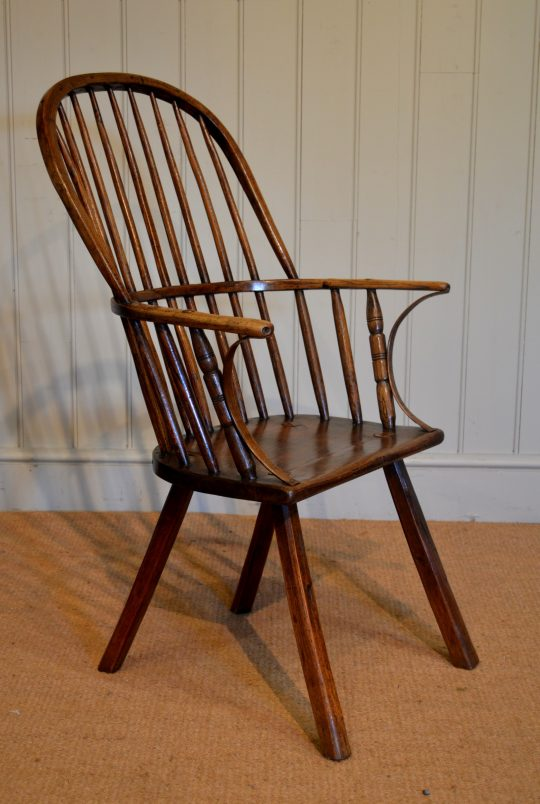 Hoop-back Windsor chair Sold