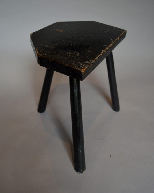 Painted Welsh stool Sold