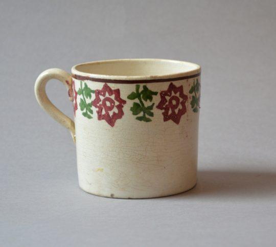 Spongeware mug (C) Sold