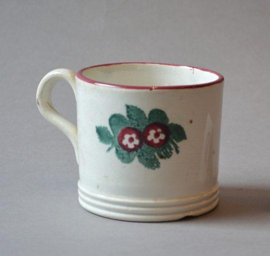 Spongeware mug (D) Sold