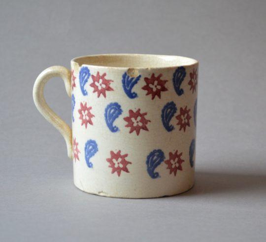 Spongeware mug (F) Sold