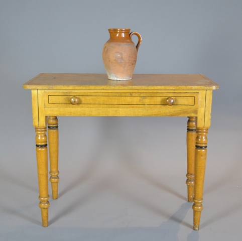 Victorian painted side-table Sold