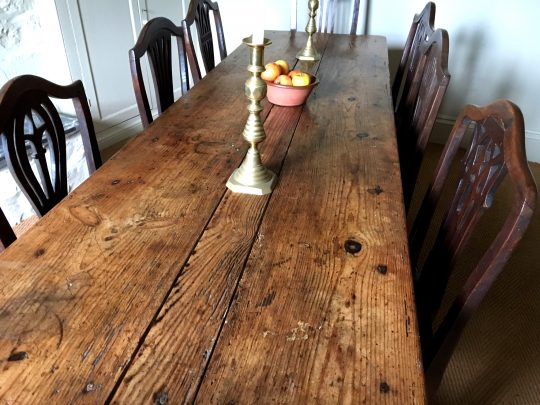 Farmhouse kitchen table Sold