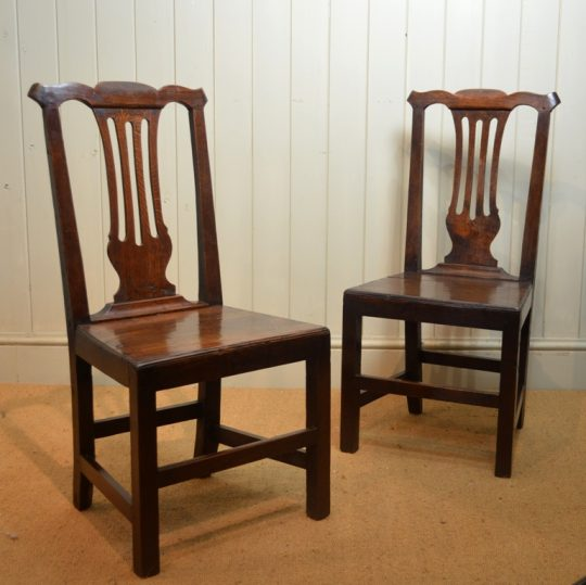 Pair of Welsh chairs Sold