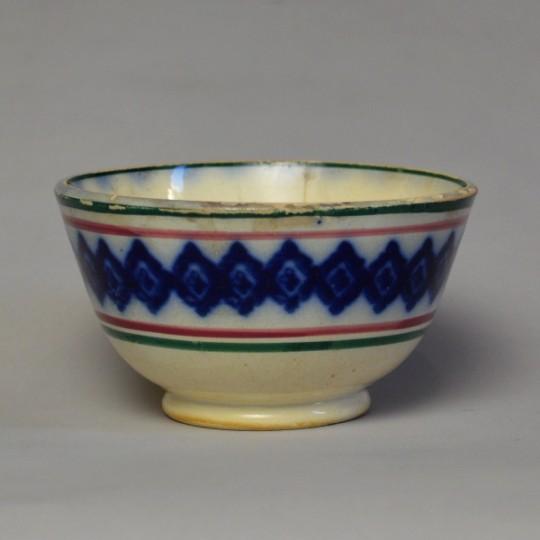 Small spongeware bowl Sold